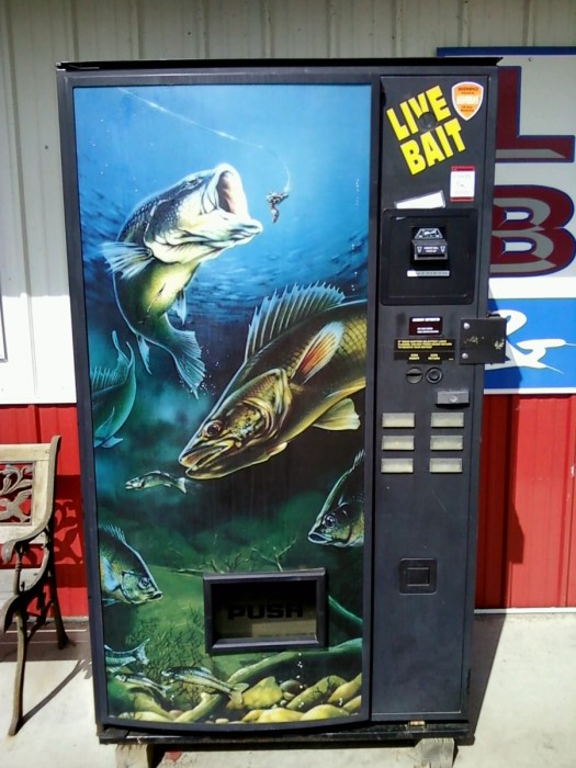 live bait machine
